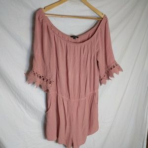 NWOT Ambiance Plus Size Romper
